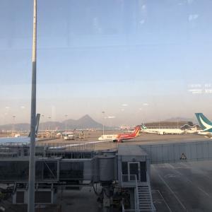 現在の香港🇭🇰空港の様子は??香港空港でトランジットが長い場合は寝れる環境か?