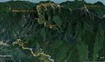俯瞰図:審馬陣山