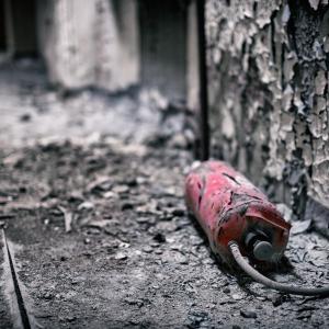 心配から備え 簡易消火スプレー
