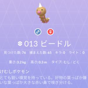 ポケモン紹介 図鑑ナンバー13 ビードル