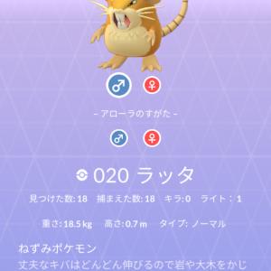 ポケモン紹介 図鑑ナンバー20 ラッタ