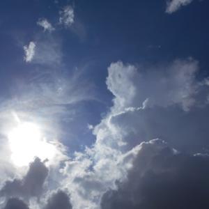 丑三つ時を前に空の写真を