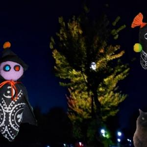 夜光樹の煌めく夜   また布人形を作ってみようか
