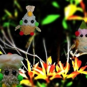 森の祭壇と妖精たち    用水路の釣りのテーマ