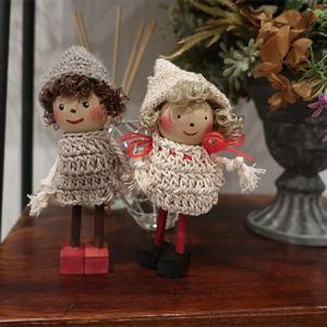 編み物の練習を兼ねてドール作成!