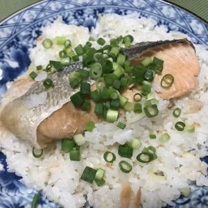 塩鮭の炊き込みご飯