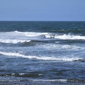 渚のサーフ物語。「夏の朝の潮風は優しく吹いて消えて去る、サーファー好みのオフショアの風」の巻。