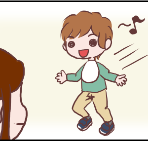 ゆうくんのファーストシューズデビュー