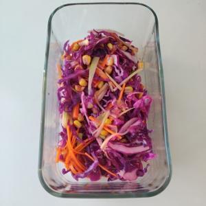 このひと手間で、紫キャベツのコールスローが美味しくなる!