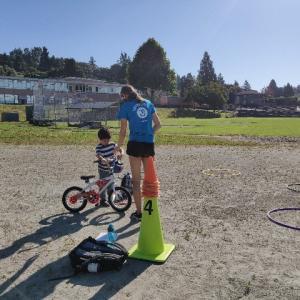 ずぼらファミリーのための自転車教室