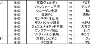 【サッカー】6/27,28 J2再開!第2節はここに注目しよう