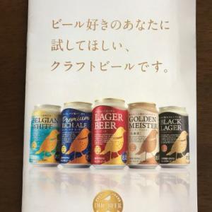 DHCのクラフトビール飲み比べセットが届いた!初日はラガービール!