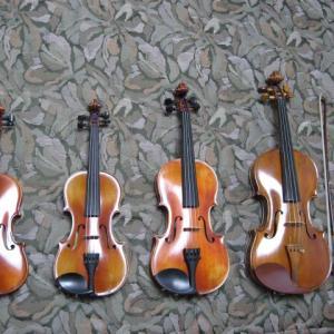 息子のバイオリン奮闘記◆小4ー? 1/2サイズの楽器を購入