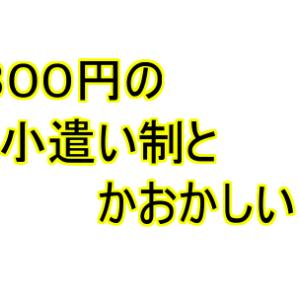【日常】1日300円の小遣い制とかなんなん!!