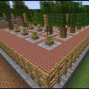 改築完了!自動回収植林場、完成。