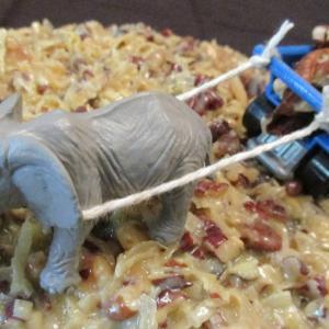 ゾウ採用。Elephant