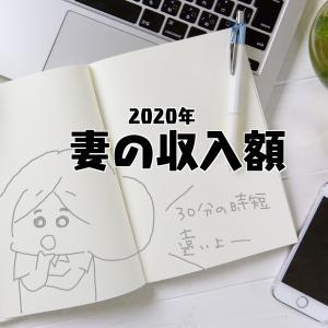 【2020年妻の収入額【年収200万代】