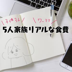 【世帯年収600万】リアルガチな食費【子3人・援助なし】