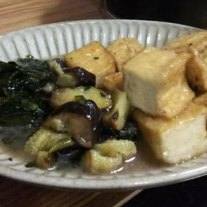 味つけは【白だし+おろしショウガ】のみ✨簡単美味しい厚揚げの煮物✨【うつ病/ずぼら料理】