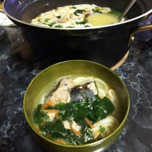 【さば缶】簡単✨さば缶を使ったスープが超美味い‼️ アレンジ自在の「さば塩」麺【うつ病/ずぼら料理】