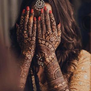 インド結婚式計画⑧ 〜ブライダルメヘンディ〜