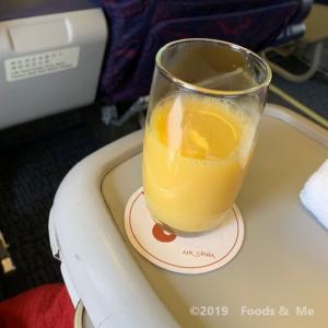 Air China ビジネスクラス 機内食
