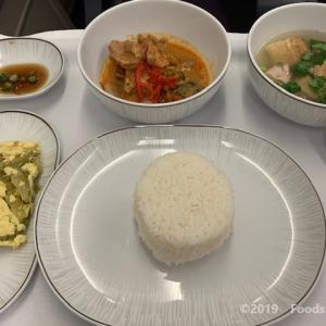 タイ国際航空 ビジネスクラス 機内食