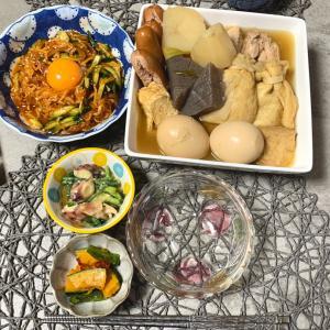 今日の夜ご飯♪