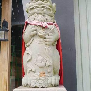 2019年台湾風獅爺の旅 風獅爺コレクションその1 聖祖食品観光工場の風獅爺