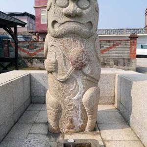 2019年台湾風獅爺の旅 風獅爺コレクションその23 成功風獅爺A