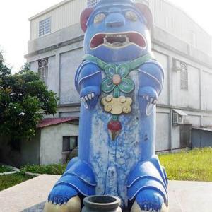 2019年台湾風獅爺の旅 風獅爺コレクションその46 官裡風獅爺