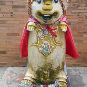 2019年台湾風獅爺の旅 風獅爺コレクションその124 湖下風獅爺