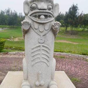 2019年台湾風獅爺の旅 風獅爺コレクションその131 尚義環保公園の風獅爺たち⑤