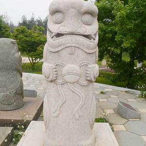 2019年台湾風獅爺の旅 風獅爺コレクションその140 尚義環保公園の風獅爺たち⑭
