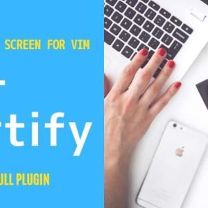 Startify – スタート画面を追加するVimプラグイン