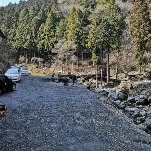大岳キャンプ場でガブ呑み冬キャンプ