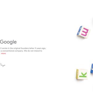 Google共同創業者が親会社を後任ピチャイCEOへ託す。創業21年目の決断。