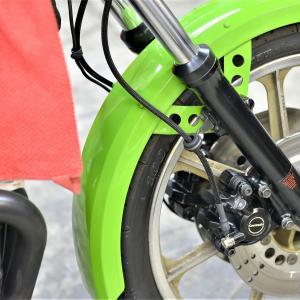 ③Z1000R1 ローソンレプリカ ブレーキキャリパーOH ブレーキマスターOH ブレーキホース製作
