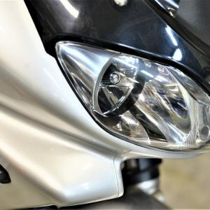 バンディット1200 車検 サイドスタンド短足加工(ショート加工)ガンコート塗装 リアブレーキパッド交換等