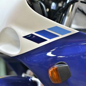 GSX-R750RK ホイールペイント タイヤ交換 ナイトロンリアサス交換 ASウオタニフルパワーキットその他
