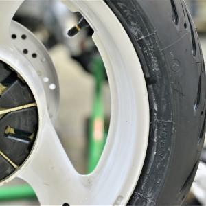 ④GSX-R1100K キャブメンテOH メインハーネス交換 デイトナ AQUAPROVA(アクアプローバ)HG TEMP METER取り付け ミシュランROAD5タイヤ交換