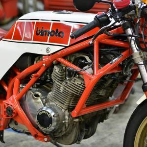 天然記念物レベル?BIMOTA SB3(GS1000エンジン)エンジン始動に問題あり。