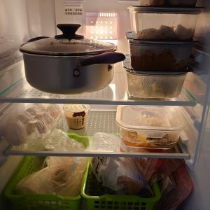 黒犬家の冷蔵庫公開