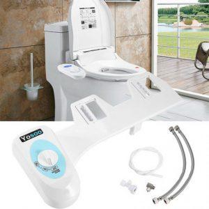 ドイツのトイレに電源不要の簡易ウォシュレット