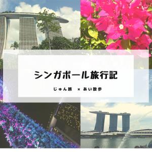シンガポール旅行記〜2泊3日の弾丸旅行〜