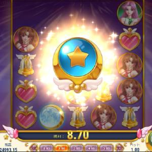 今日もまたMoon Princessを1ドル回しで1万円分