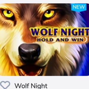 WOLF NIGHTを初プレイで85倍の勝利金をげっと!
