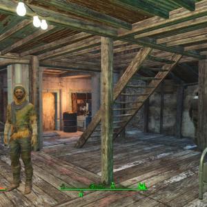 Fallout4で拠点整備マンの日々