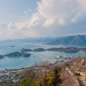 白滝山ヒルクライム因島大橋出入口スタートしまなみ海道因島絶景スポット