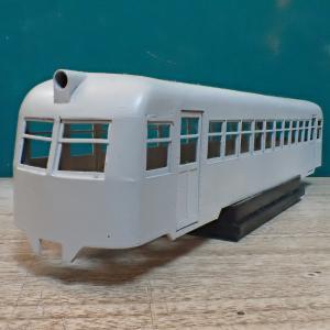 三河鉄道キ80の組立(1)